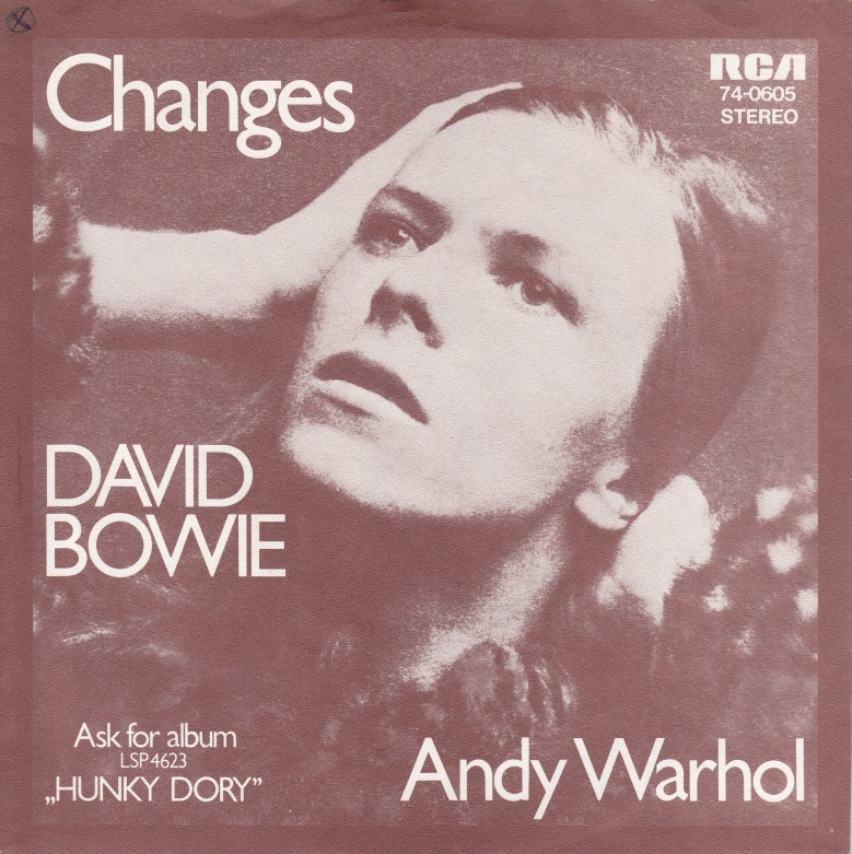 David Bowie - Changes - RCA - UK - 1972 - Front