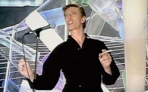 David Bowie performs 'Boys Keep Swinging' on the Kenny Everett Video Show