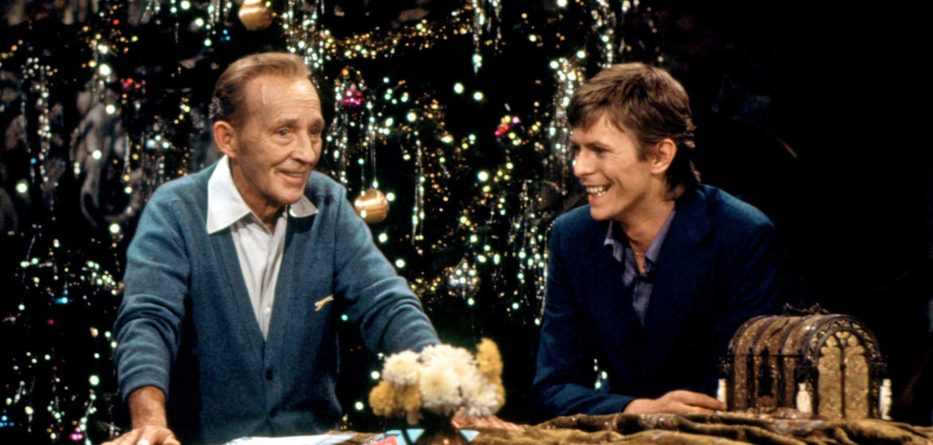 David Bowie and Bing Crosby sing Peace On Earth / Little Drummer Boy in 1977