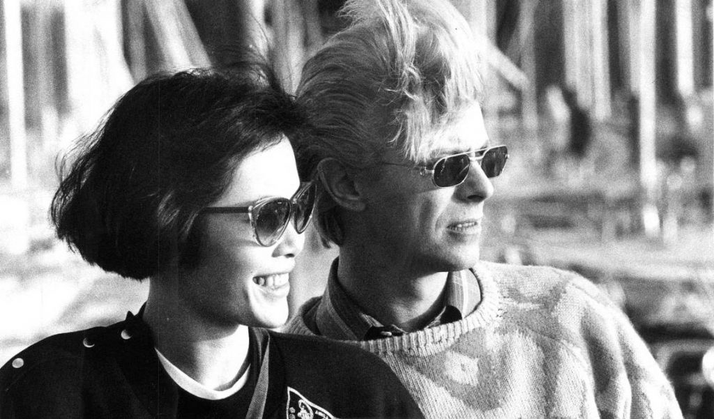 Ng Geeling and David Bowie