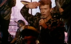 David Bowie performs 'Blue Jean' for MTV in 1984