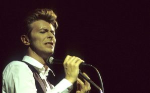David Bowie live in Lisbon Portugal on the Sound & Vision tour in 1990