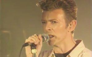 David Bowie live at FNAC La Bastille, Paris in 1995
