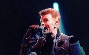 David Bowie live at the Loreley Festival in 1996