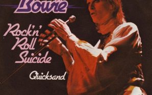 David Bowie - Rock 'N' Roll Suicide - Single Cover