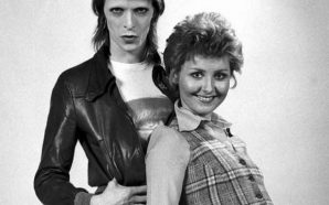 David Bowie and Lulu in 1973