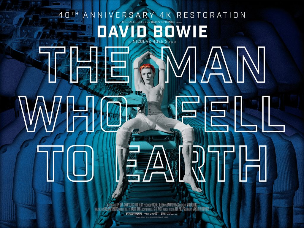 David Bowie The Man Who Fell To Earth 40th Annivsary 4K Restoration