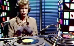 David Bowie DJ promo video directed by David Mallet