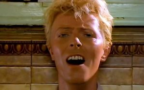 David Bowie in the David Mallet directed video for Let's Dance
