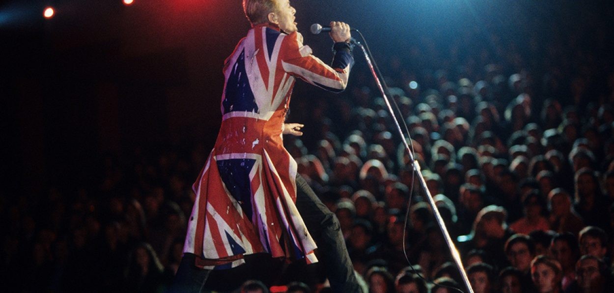 David Bowie performs Fashion at the VH1 Fashion Awards at Madison Square Garden in 1996