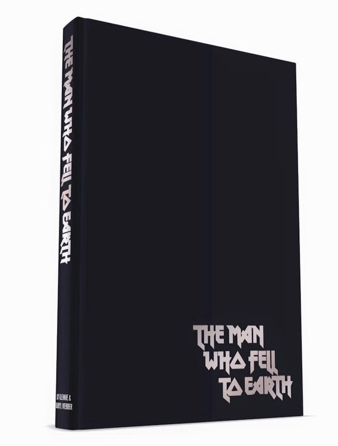 The Man Who Fell To Earth starring David Bowie book front cover
