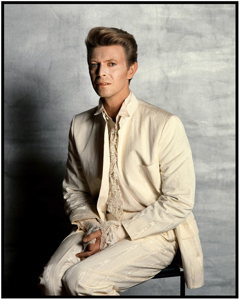 David Bowie, Tony McGee Studios, As seen in National Portrait Gallery, 1990
