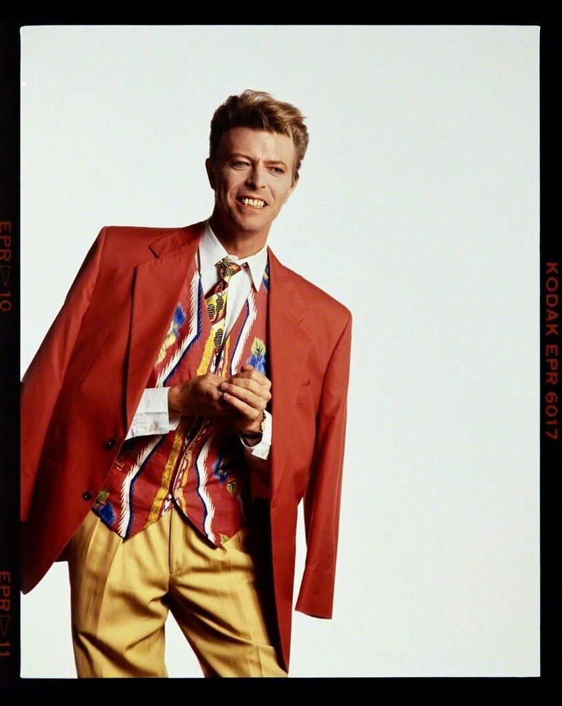 Tony McGee - David Bowie Wears Byblos, McGee Studios, London, 1990