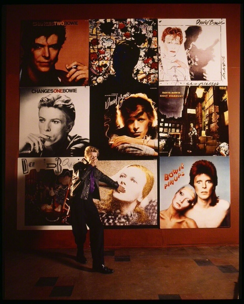 Tony McGee - David Bowie Covers His Mouth Twice, 1991