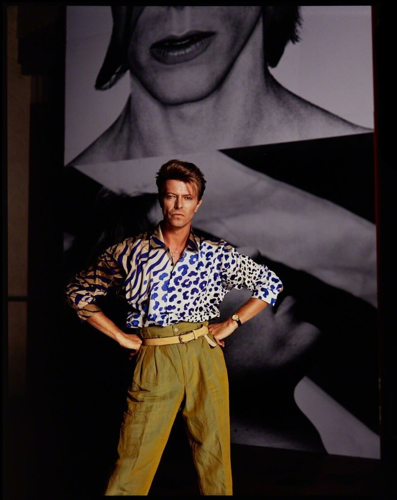 Tony McGee - David Bowie In Front Of Himself In The Rehearsal Theatre, London, 1991