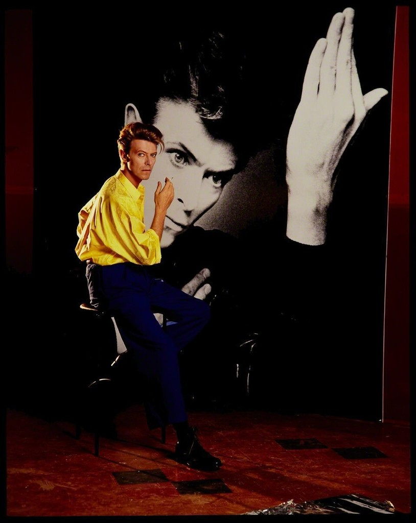Tony McGee - David Bowie In Front of Himself Smoking, 1991
