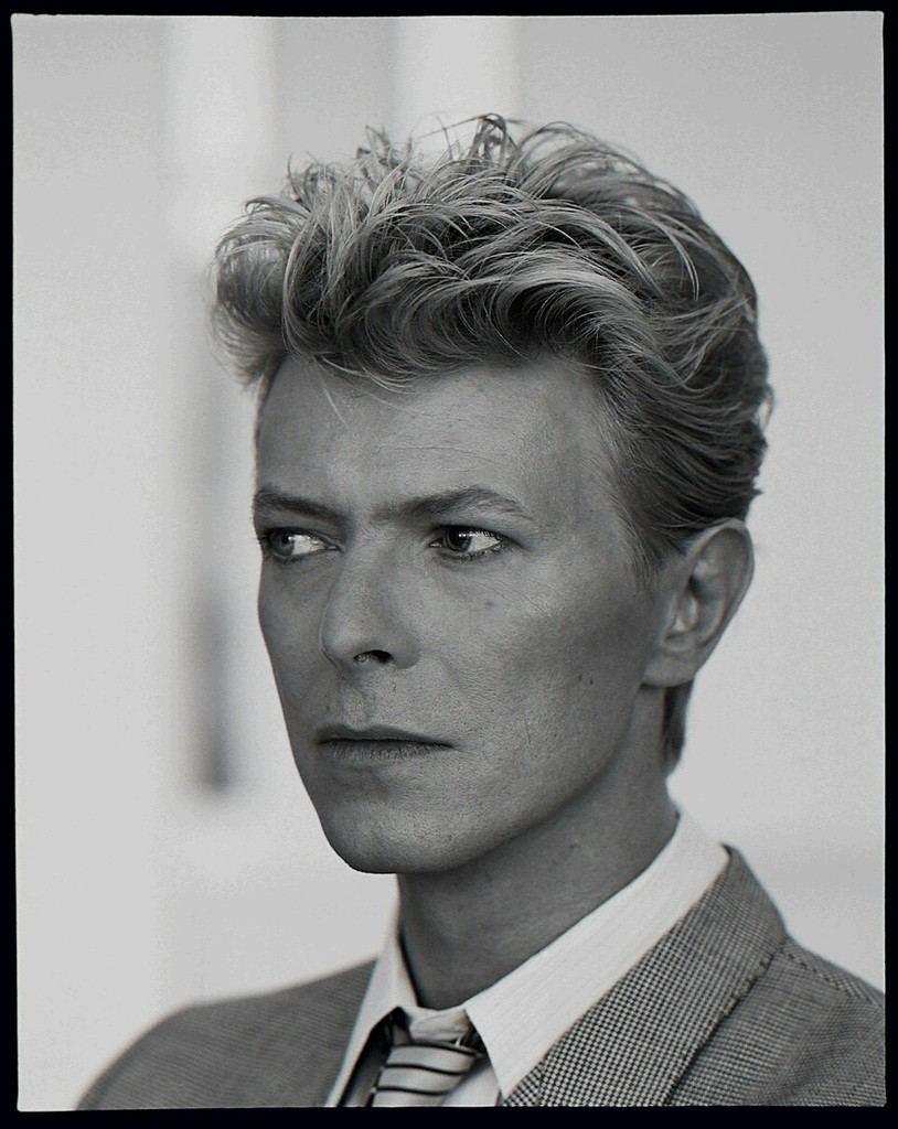 Tony McGee - Portrait of David Bowie, 1982