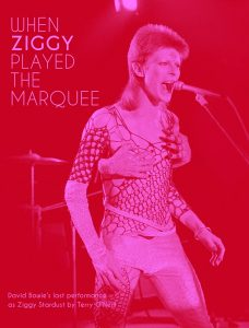 When Ziggy played the Marquee - a book by Terry O'Neill