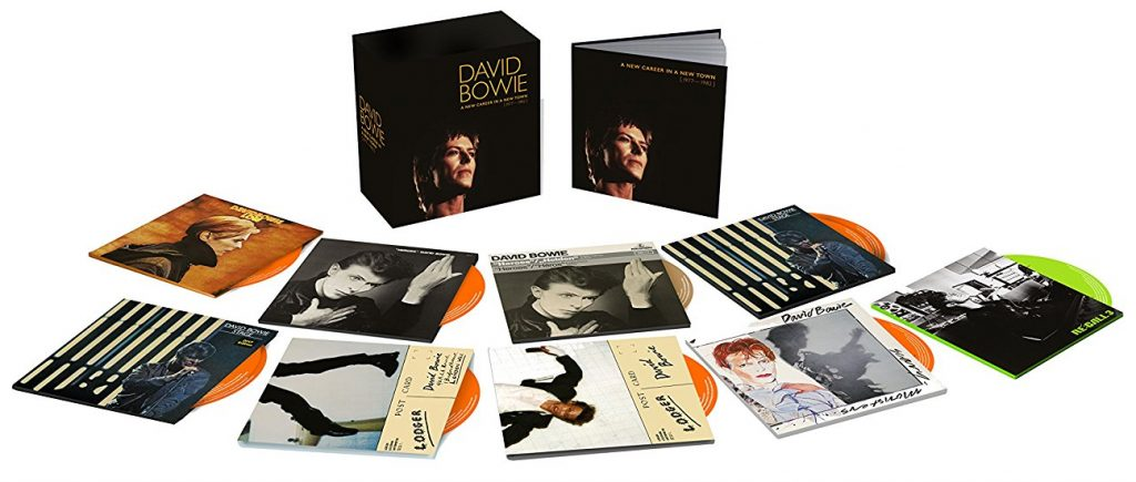 David Bowie - 'A New Career In A New Town (1977 - 1982)' box set