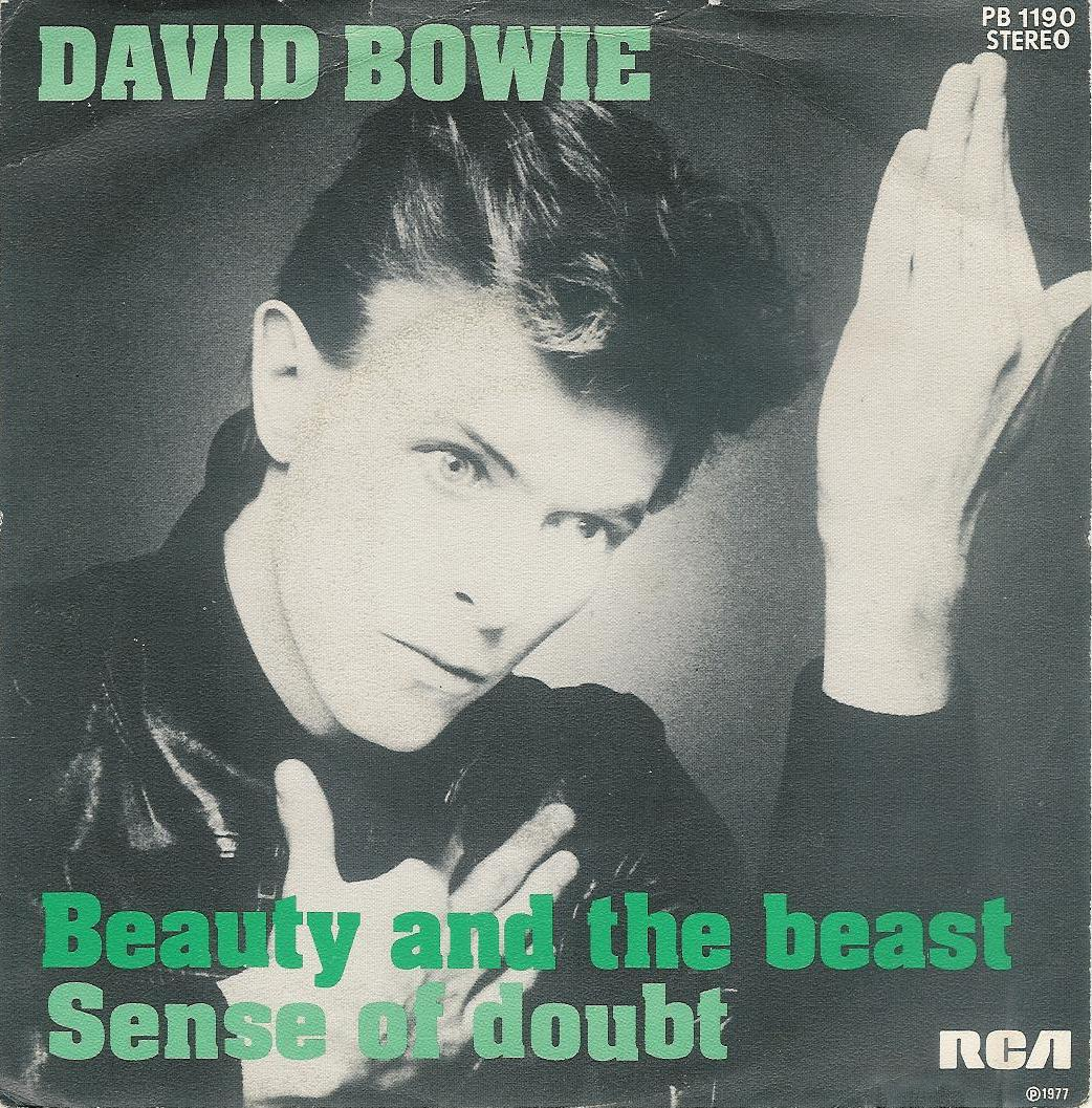 David Bowie - Beauty And The Beast - Belgium single front cover