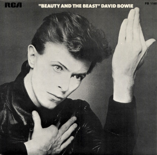 David Bowie - Beauty And The Beast - France single front cover