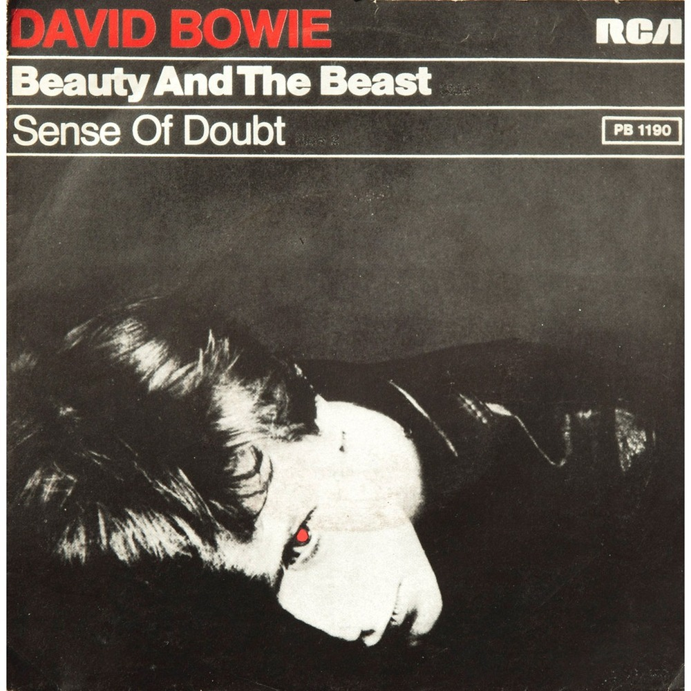 David Bowie - Beauty And The Beast - Netherlands single front cover