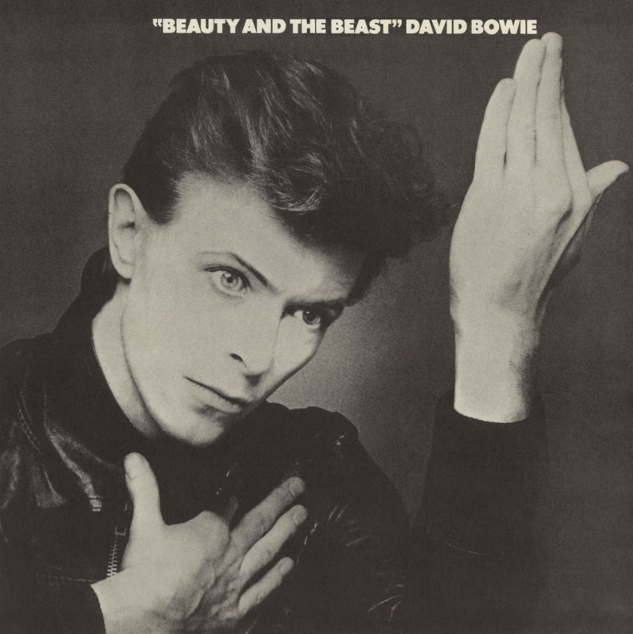 David Bowie - Beauty And The Beast - UK single front cover