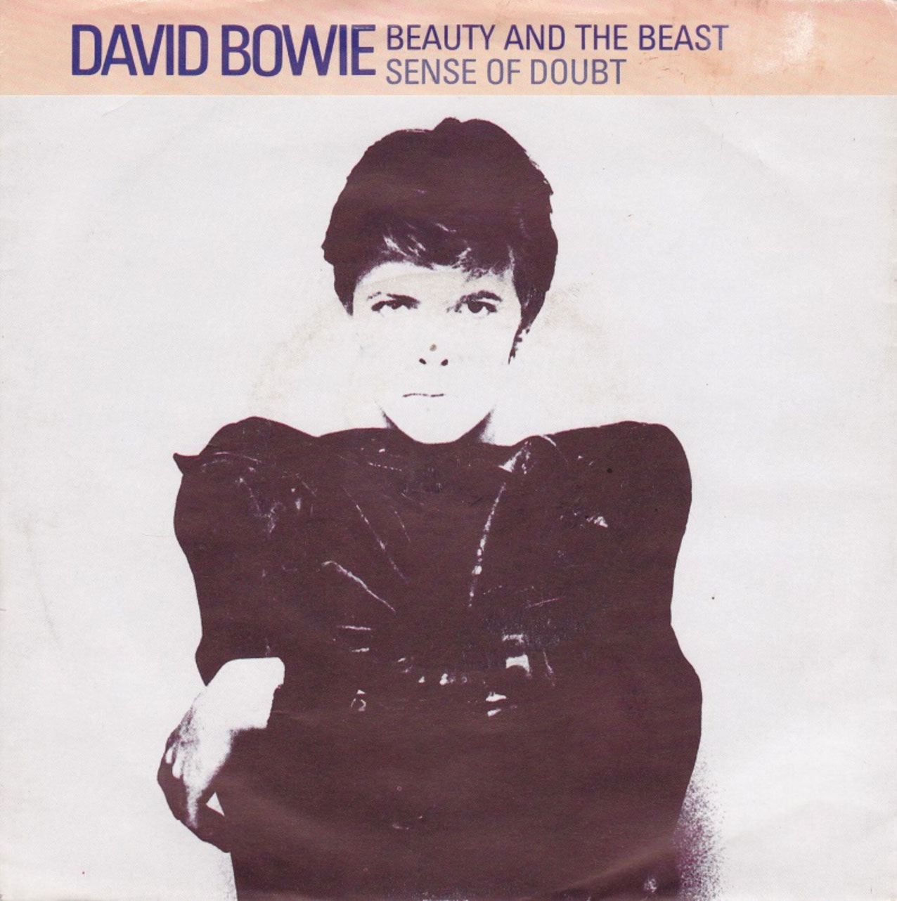 David Bowie - Beauty And The Beast - UK Reissue single front cover