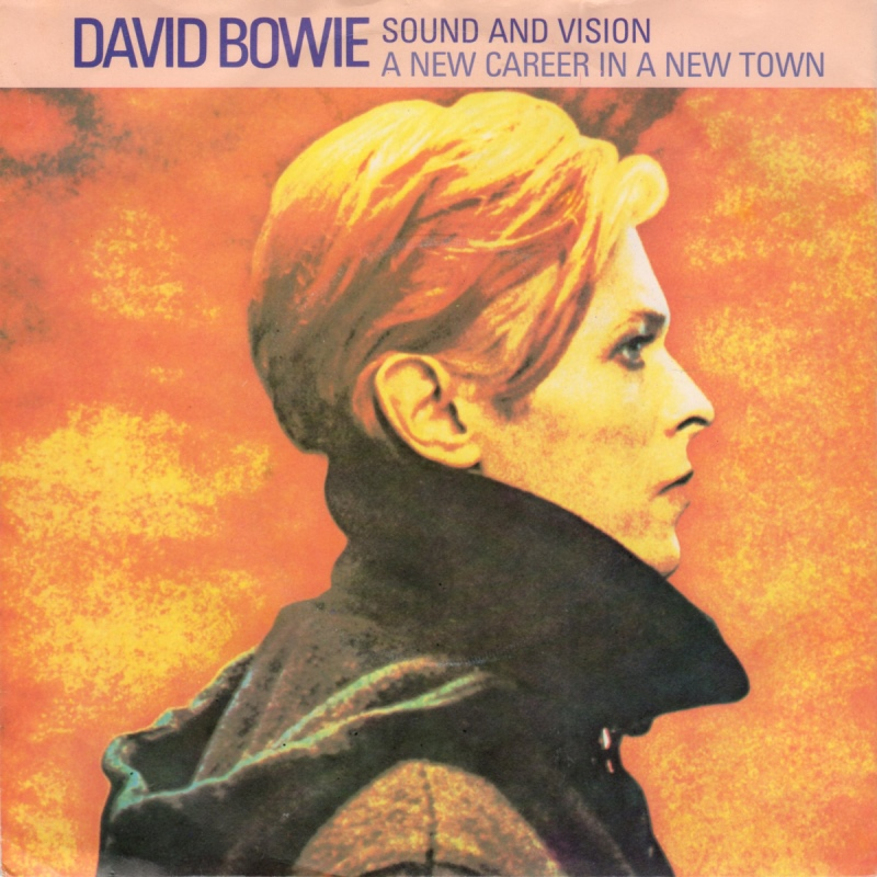David Bowie - Sound and Vision - Single front cover - 1983