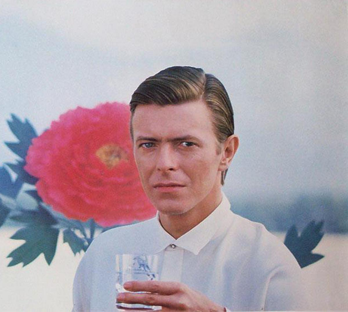 David Bowie - Still from the TV advert for Crystal Jun Rock